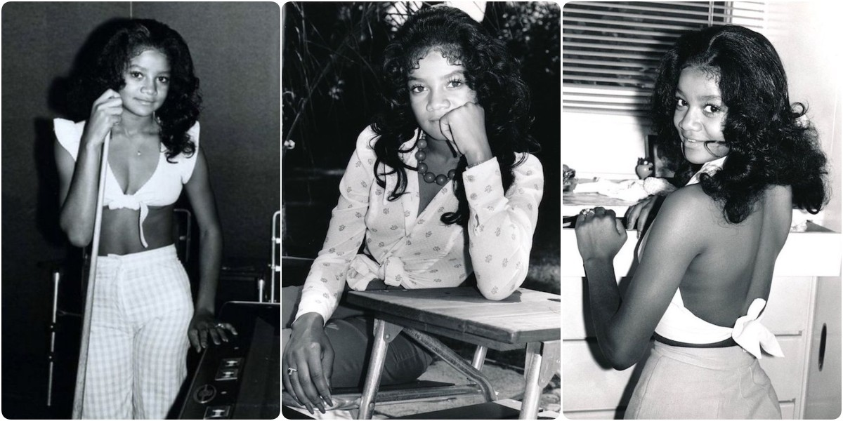 Lovely Pics of a Teenager La Toya Jackson at Home in 1972