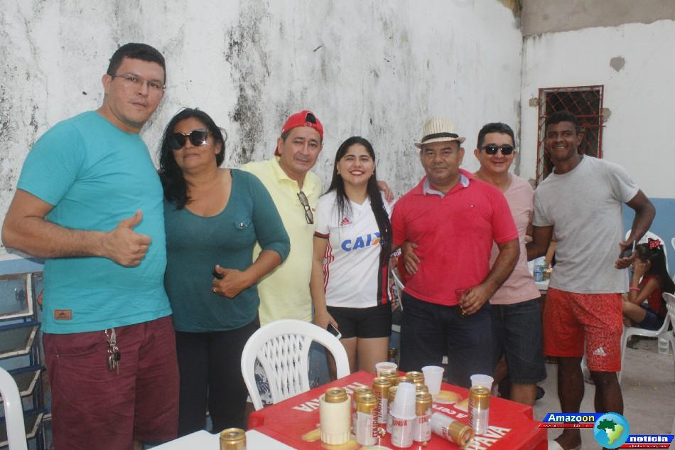 Clube América da comunidade de Boim município de Santarém promoveu  sua Feijoada