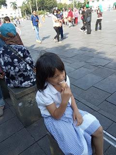 Jajanan kota Tua Jakarta