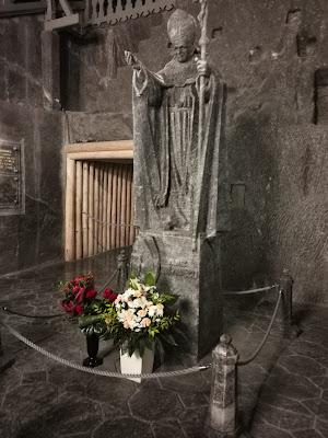 Statua+Papa+Cracovia