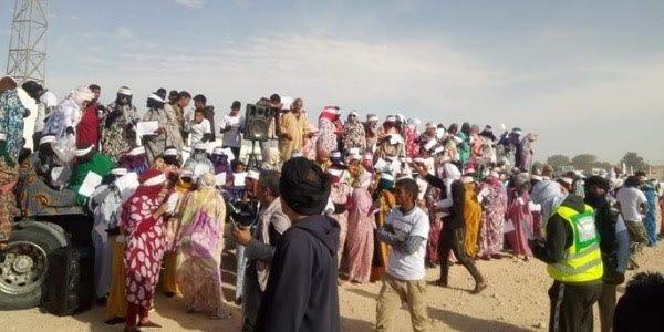 """تجار المحتجزين بمخيمات تندوف: """"جبهة البوليساريو تتحمل كل المسؤولية في تجويع الصحراويين ولن نسكت أبدا"""""""