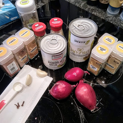 Picture of all ingredients before cooking