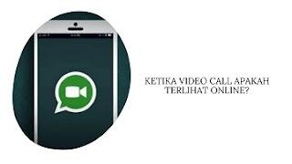 Ketika Video Call Apakah Terlihat Online