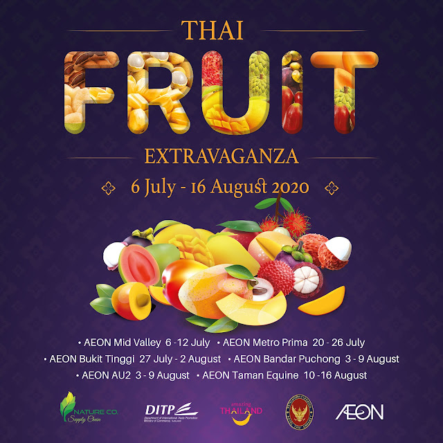 Thai Fruit Extravaganza @ AEON Supermarket
