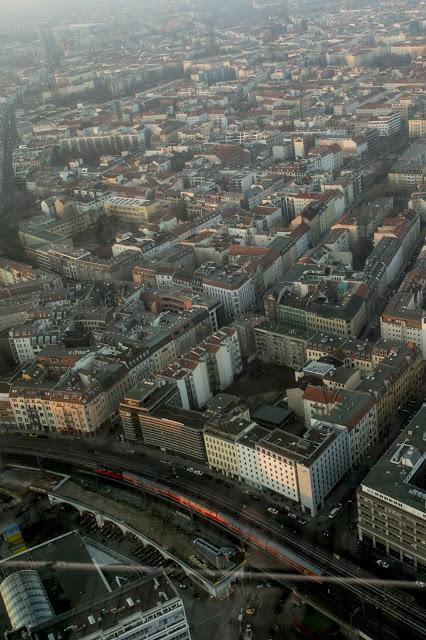 Vista dalla Torre della Tv-Fernehturm-Berlino