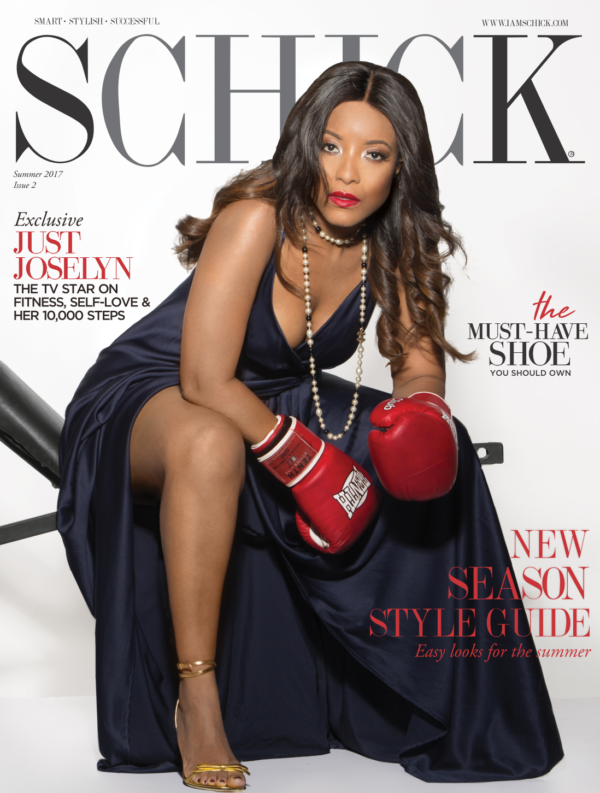 Ghanaian Actress Joselyn Dumas covers SCHICK Magazine's Latest Issue