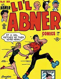 Read Lil Abner Comics comic online