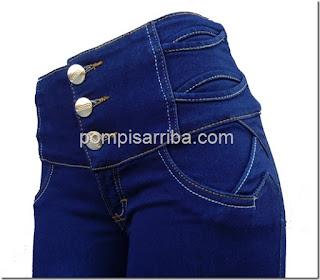 Pantalon para dama levanta cola levanta culo corte colombiano de mayoreo en linea