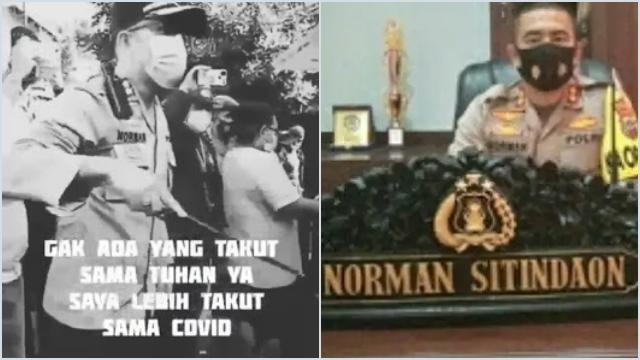 Viral Video Kapolres Minahasa Selatan Tidak Takut Tuhan, Bilang Diedit