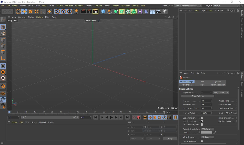 تحميل برنامج Maxon CINEMA 4D Studio S22.114 لإنشاء صور ورسوم متحركة ثلاثية الأبعاد
