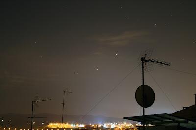 Júpiter, Mart i Saturn - 27/03/2020