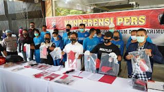 Dirreskrimum Polda Jateng Ungkap 5 Kasus terkait Curhat dan Curas