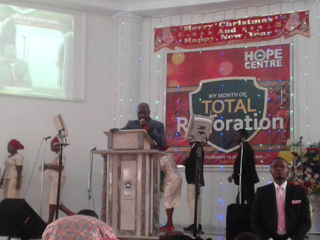 Pastor Sam Atewe