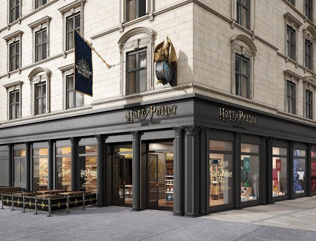 Confira as primeiras imagens e mais detalhes da loja oficial de 'Harry Potter' que será aberta em Nova York | Ordem da Fênix Brasileira