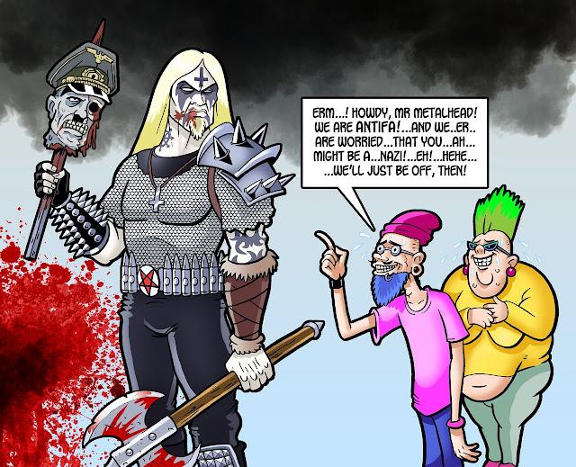 Black Metal vs Social Justice Warriors #PMRC PunkMetalRap.com