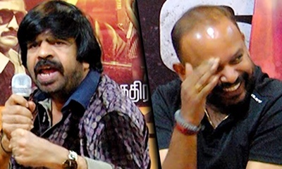 T Rajendar teases Venkat Prabhu | Vizhithiru Movie Press Meet | Comedy Speech