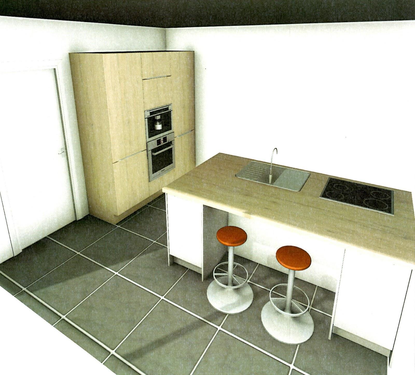 Construction naome vanbellingen thomas et piron for Projet de cuisine