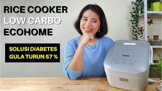 REVIEW RICE COOKER LOW CARBO ECOHOME