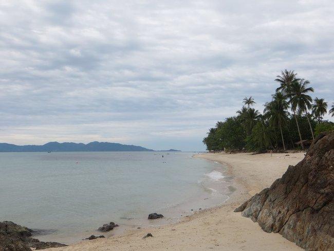 конец пляжа Бан Тай