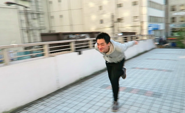 Ninja run Tokyo