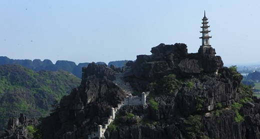 與越南新娘一起共遊越南寧平舞山美景