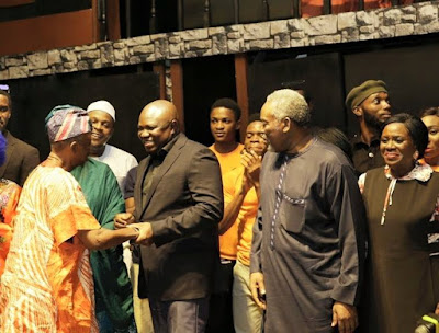 Ambode unveils plans to build five new arts theatres