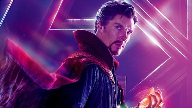 Doctor Strange dans Avengers Infinity War - Fond d'écran en HD