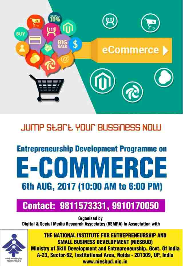 E-Commerce Training program 6 August 2017