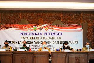 Dandim Jepara Hadiri Kegiatan Pembinaan Petinggi Terkait Tata Kelola Keuangan Pemerintahan Desa