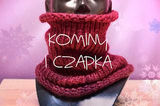 Czerwony komin   Melanżowy komin   Rożowa czapka