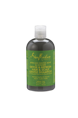 SheaMoisture African Water Mint & Ginger Detox & Refresh Hair & Scalp Gentle Shampoo