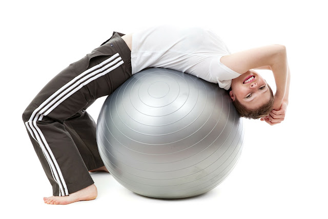 pilates bola cinza - belanaselfie