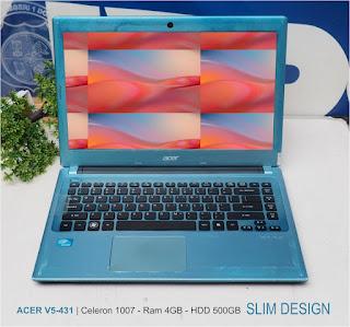 Jual laptop Seken Acer V5-431