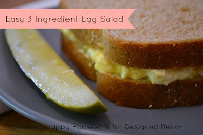Easy 3 Ingredient Egg Salad