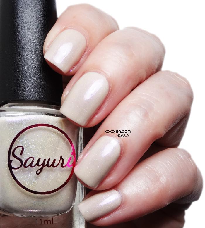 xoxoJen's swatch of Sayuri Nail Lacquer Melt Down