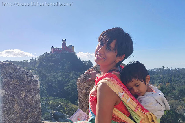 Moorish Castle with a baby toddler