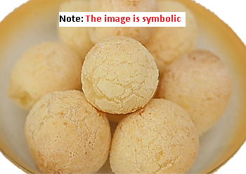 rice flour laddu with bura sugar