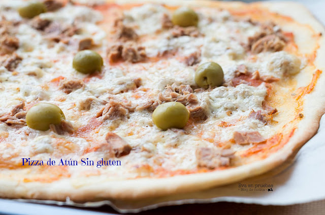 Pizza sin Gluten de Atún