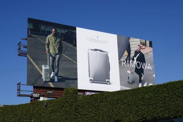 Rimowa luggage billboard