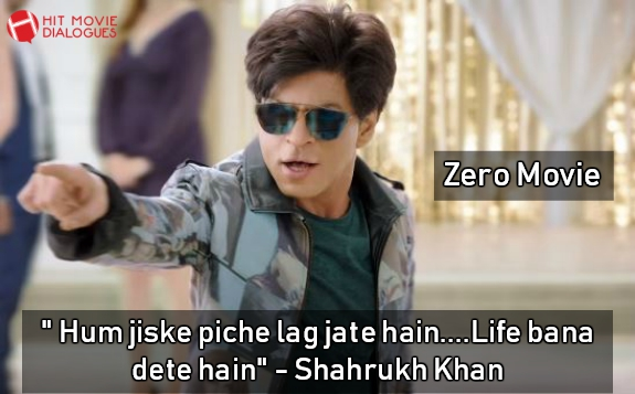 Zero Movie Dialogues By Shahrukh Khan