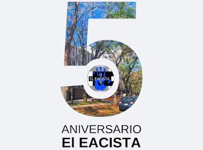 El Eacista celebra 5 años junto a ustedes