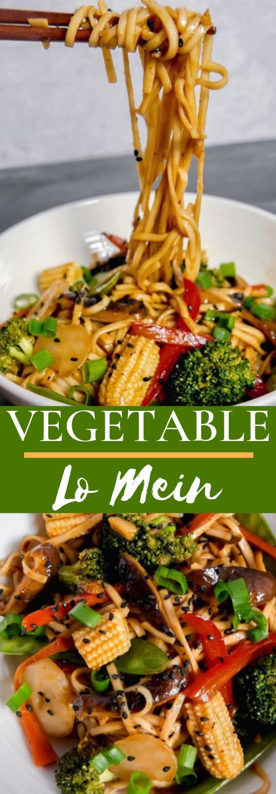 Vegetable Lo Mein #vegetarian #dinner
