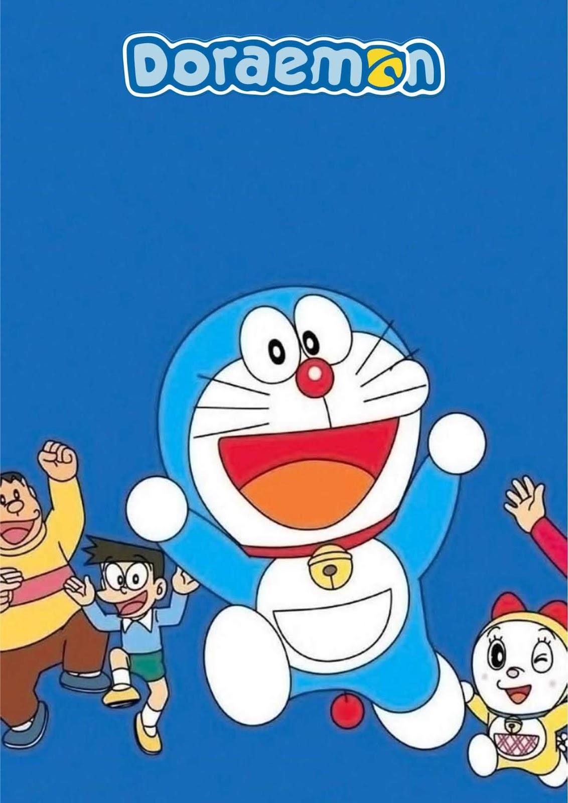 54 Gambar Kartun Doraemon Lucu Dan Imut Terbaru 2020