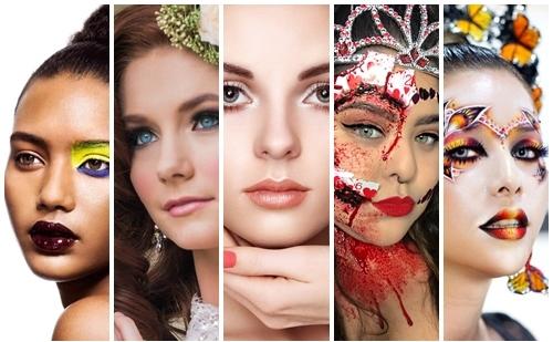 Tipos de maquillaje que existen y cuando lucir cada uno: (Con fotos)