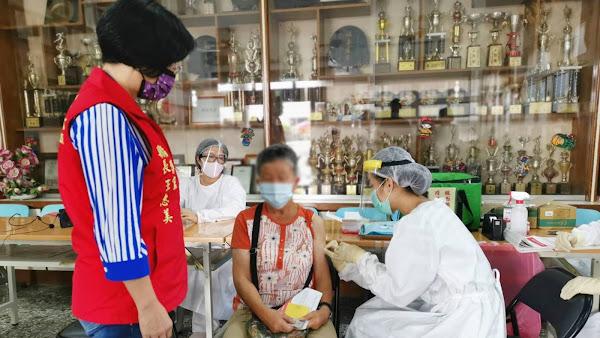 彰化縣264接種站快打莫德納疫苗 建構群體免疫