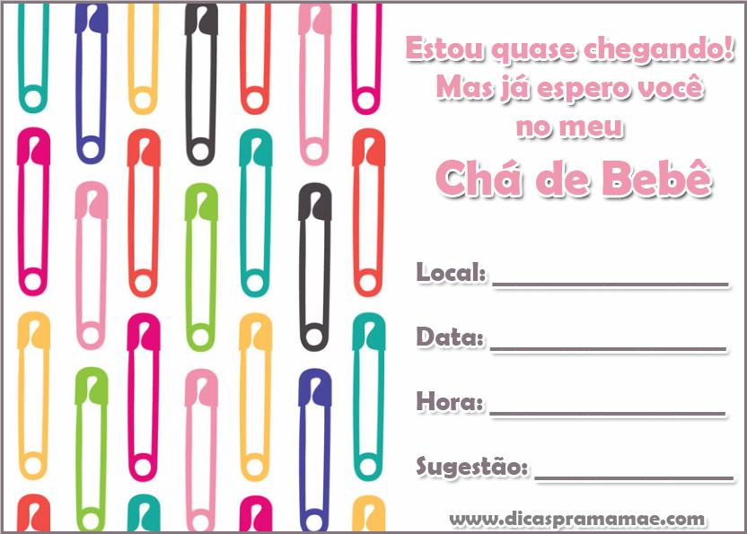 O Que Escrever No Convite De Cha De Bebe Dicas Pra Mamae