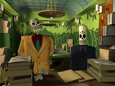 Pantallazo videojuego Grim Fandango