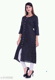 Trendy Women's Rayon Kurtis
