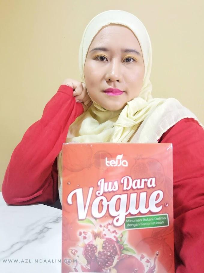 Jus Dara Vogue Jamu Moden Sedap Rasa Delima