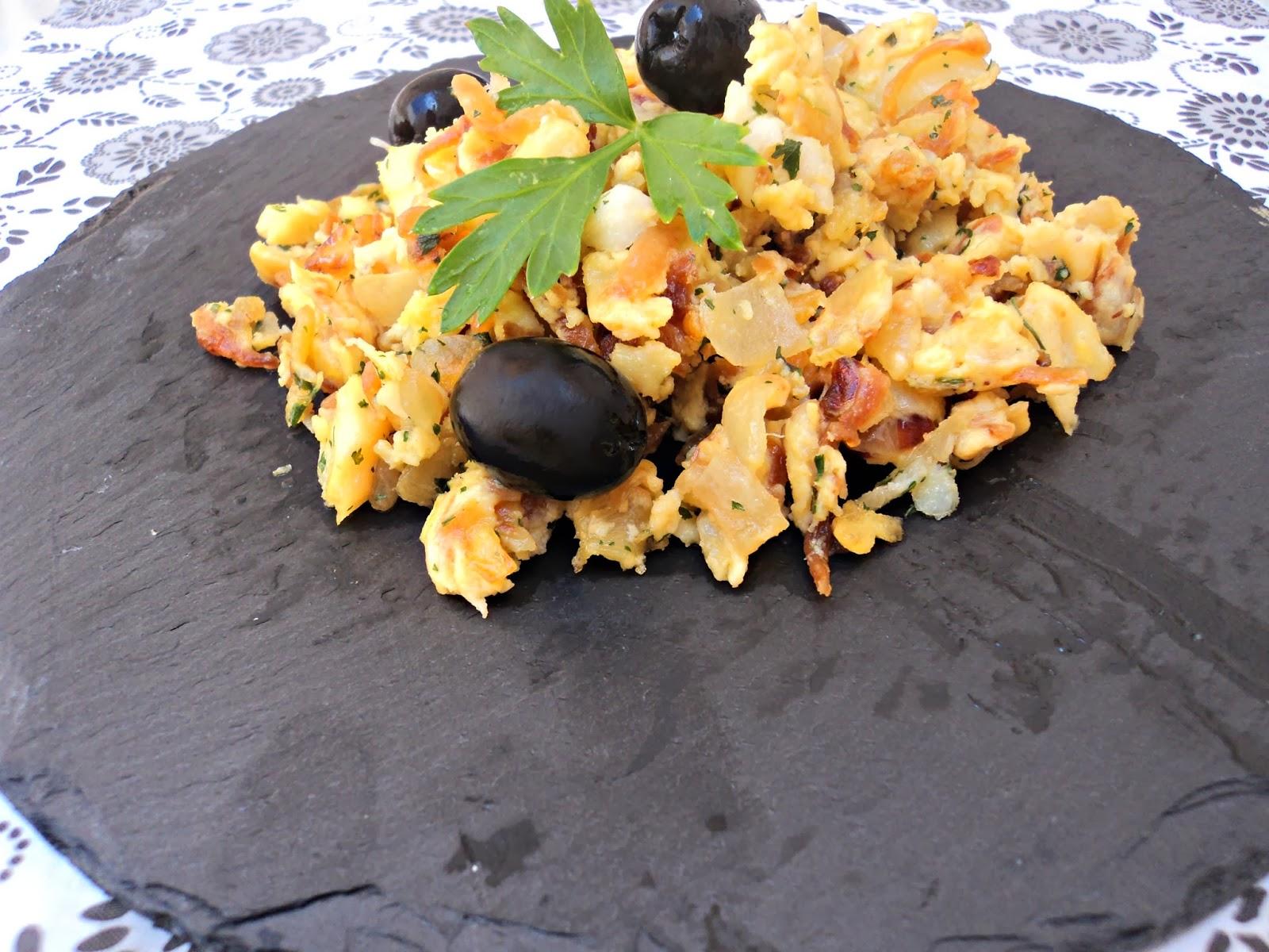 receta casera bacalao dorado patatas cocina portuguesa